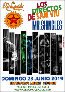 MR. SHINGLES @ Sam viu